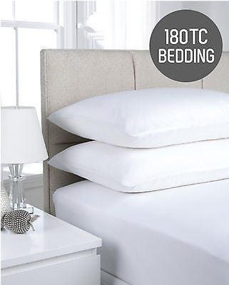 180TC Hotel Quality  (Flat Sheets and Pillowcases)
