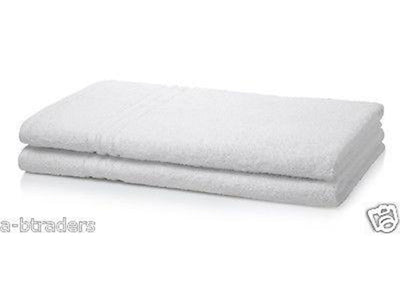 Hotel Quality Bath Sheets White