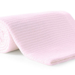 100% Cotton Thermal Cellular Blanket Light Weight Adult Soft Luxury Baby Pink