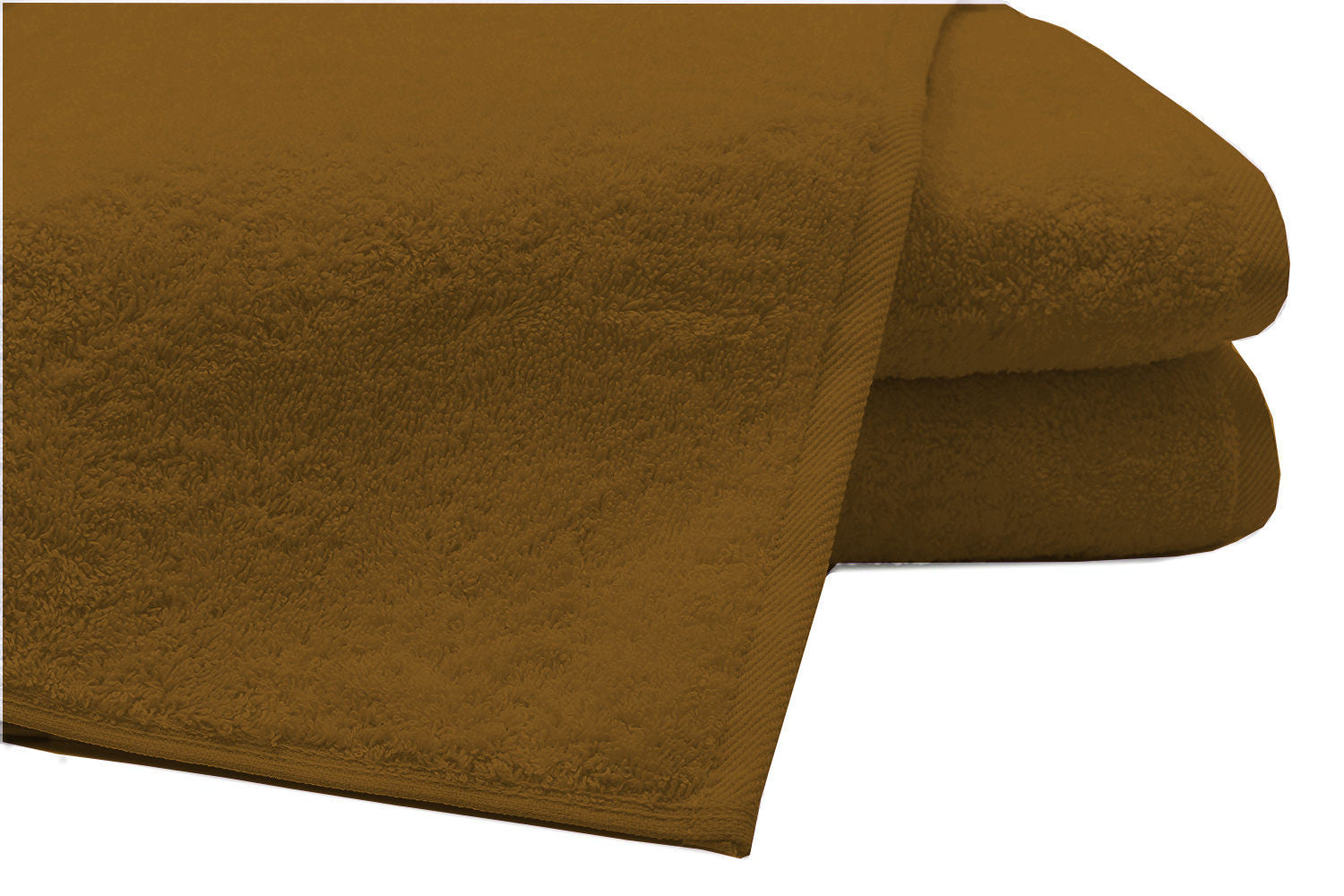 Pack of 2 Extra Large Bath Sheets100% Cotton Towels Jumbo Size COLOUR Coffee