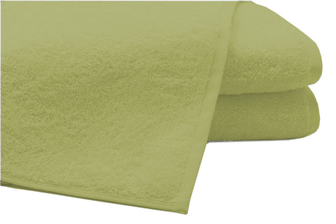 Pack of 2 Extra Large Bath Sheets100% Cotton Towels Jumbo Size Cream COLOUR