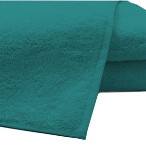 Pack of 2 Extra Large Bath Sheets100% Cotton Towels Jumbo Size COLOUR Teal
