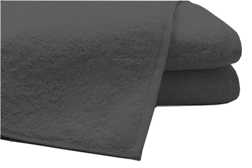 Pack of 2 Extra Large Bath Sheets100% Cotton Towels Jumbo Size COLOUR Grey