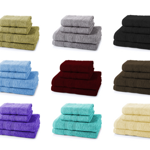 4 Pieces Towels Bale Set 2x Hand 2x Bath