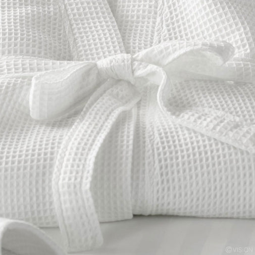Waffle Weave Bathrobes 100% Cotton 200 Thread Count