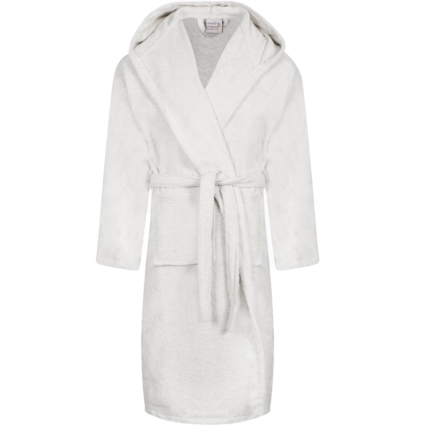 Egyptian Hooded Bath Robes | White