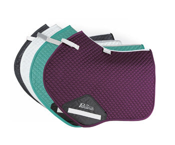 Performance Suede Jumping Saddle Pad