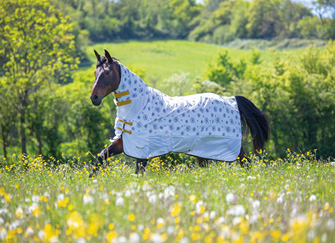 Tempest Dandelion Fly Sheet by Shires Equestrian