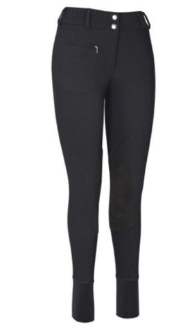 TuffRider Active Softshell Breeches with Clarino Knee Patch