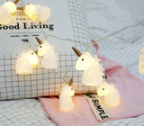 Unicorn Pony LED Festival String Lights