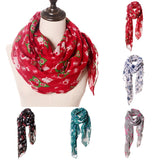 Horse Print Scarf Fashion Farm Animal Lady Wrap Neck Shawl Soft Stole Hot