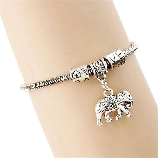 LilliPhant Elephant 1 Elephant Love Bracelet - Available 4 Different Elephants!