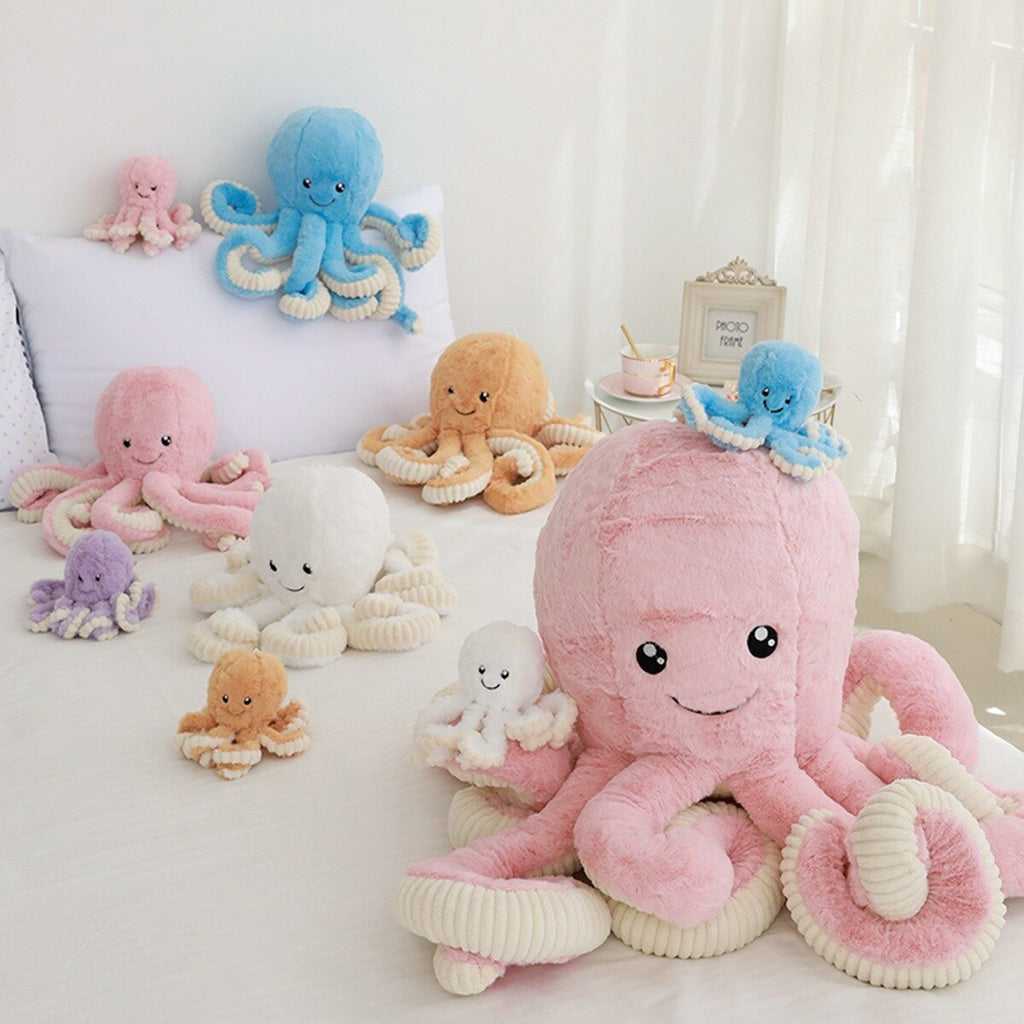 LilliPhant Giant plush octopus