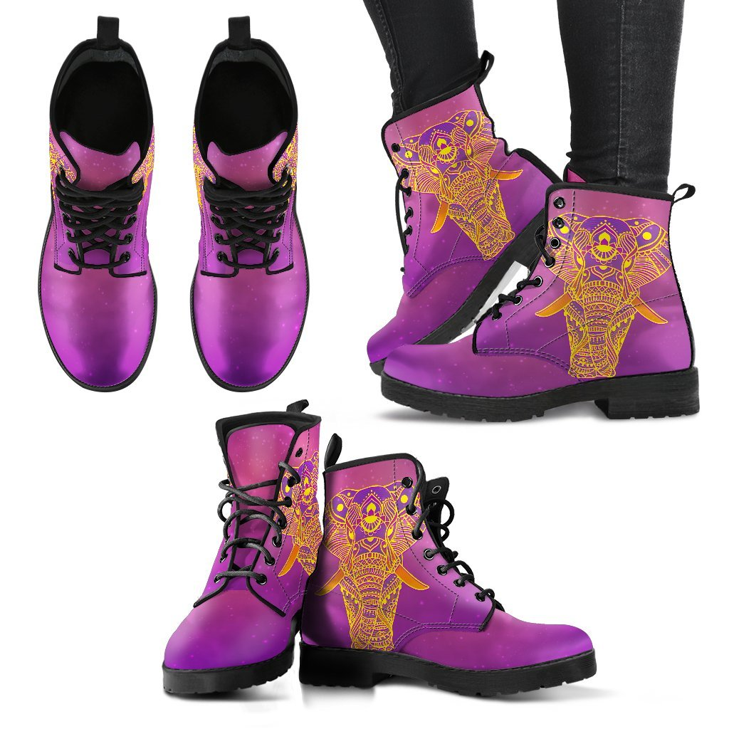LilliPhant Glowing Elephant Women's Leather Boots
