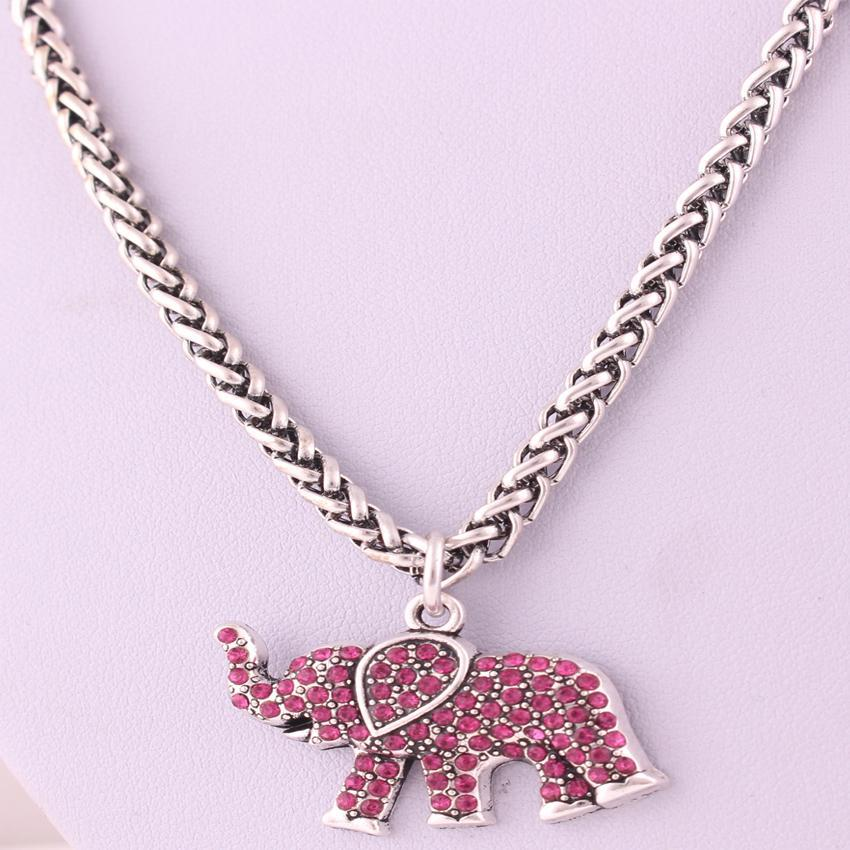 LilliPhant necklace New Arrival Rose Red  ELEPHANT  jewellery charm  necklace