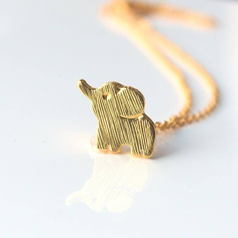 LilliPhant necklace Pretty Lucky Elephant Necklace - Gold or Silver!