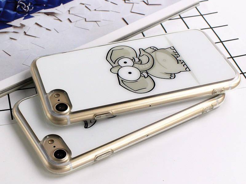 LilliPhant PhoneCase Cute Cartoon Elephant Case For iPhone - Available in 4 models!