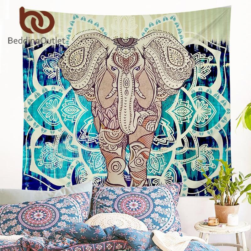 LilliPhant Wall hanging rectangle Carpet with Elephant design ( 2 Size)