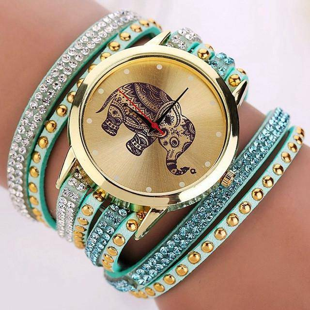 LilliPhant Watch Sky Blue Special Lilli Elephant Watch - Available in 9 colors!