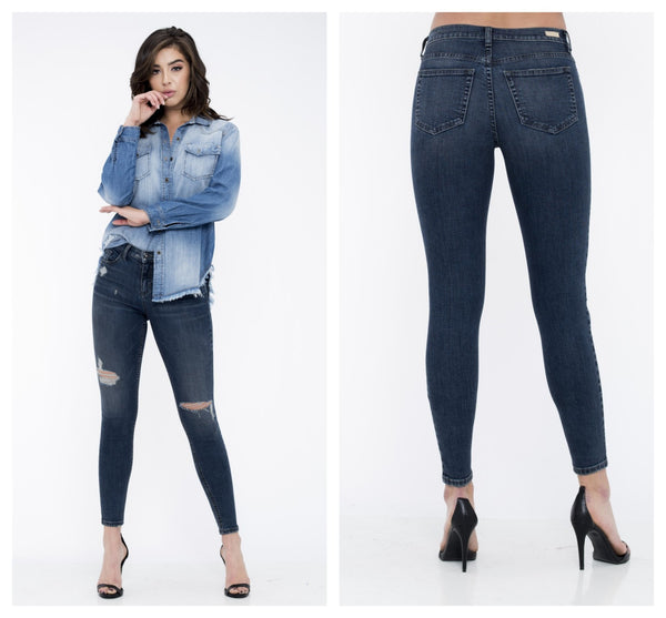 """Jenny"" High Rise Jean's"