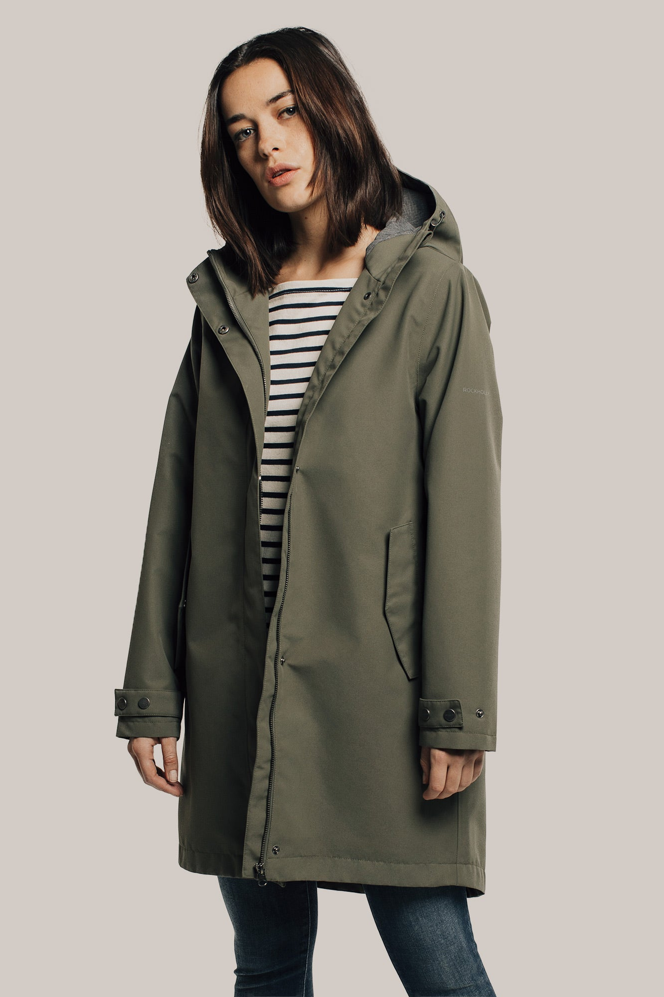 Rockholly Women's Long Transitional (Olive)