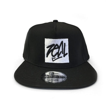 Zeal Hockey-New Era 39Thirty Snapback Hat - Black