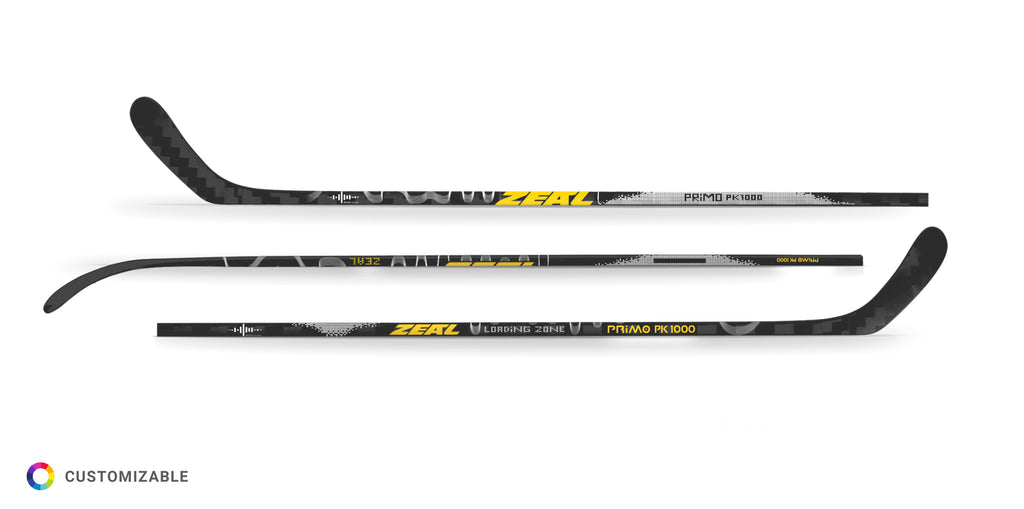 Primo PK1000 Mid-Kickpoint Custom Composite Hockey Stick