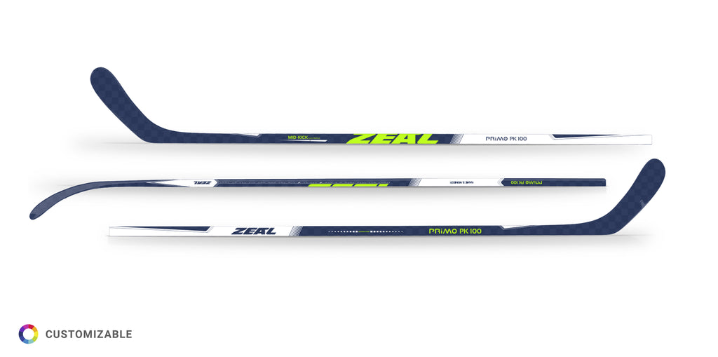 Primo PK100 Mid-Kickpoint Custom Composite Hockey Stick