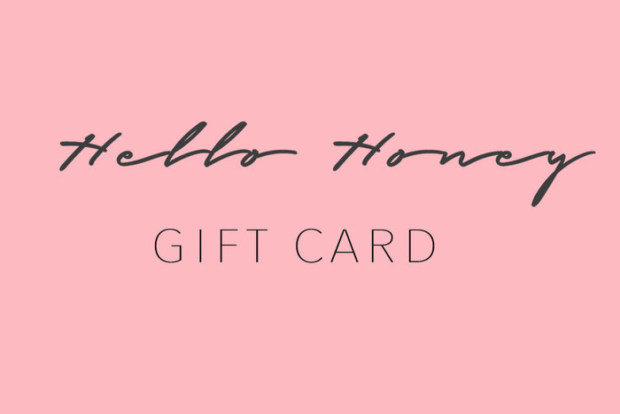 Hello Honey Gift Card