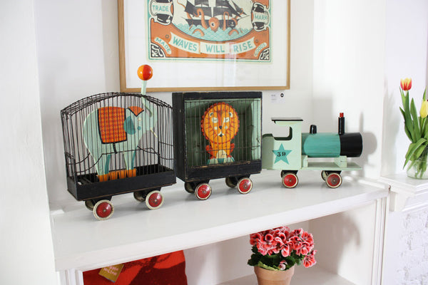 Soma Gallery - Tom Frost Circus Train