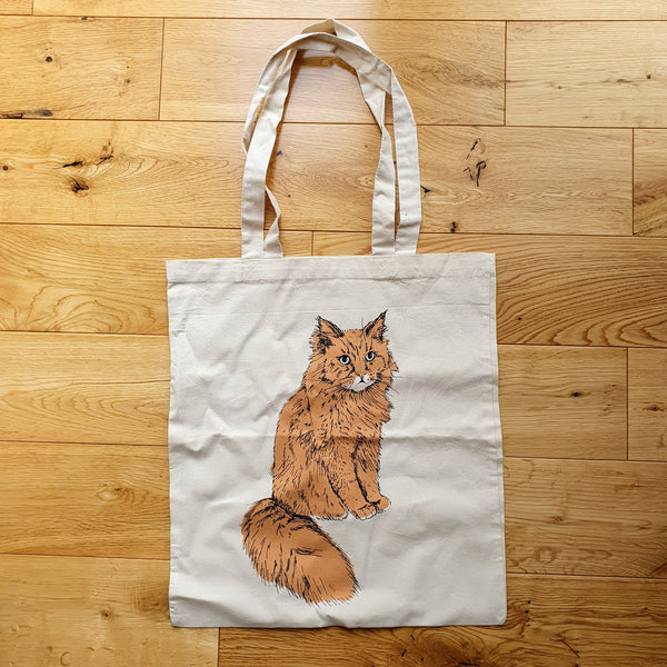 Ginger Cat Tote Bag Second 2