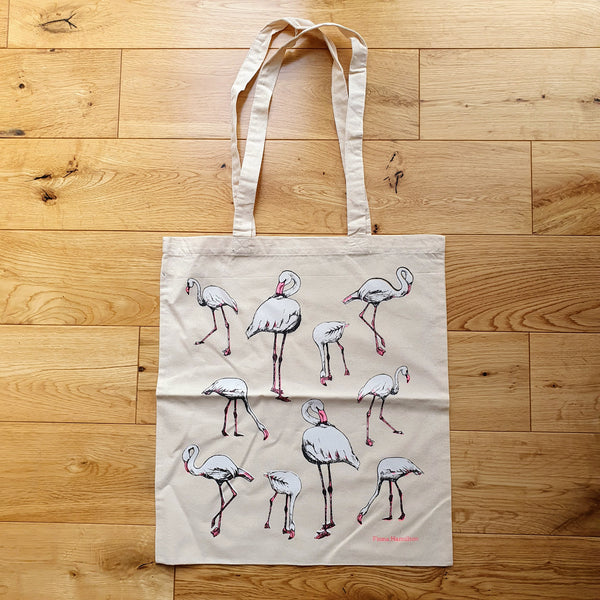 Flamingos Tote Bag Second