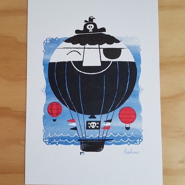 Hot Arr Balloon Print