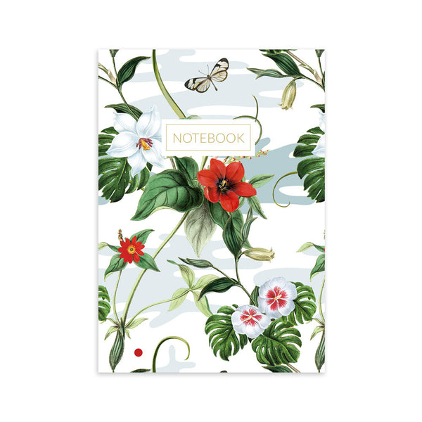 Floral Flutter notebook by Kith & Kin