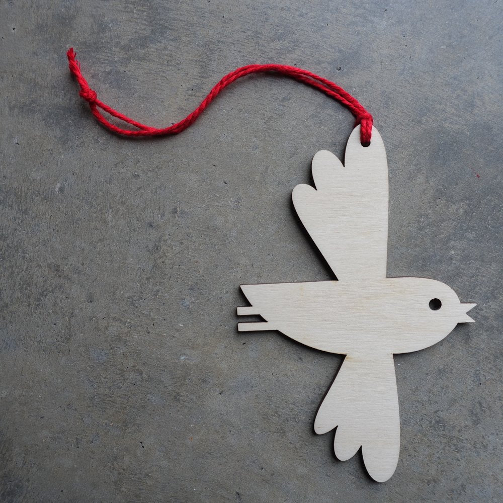 Dove Bauble