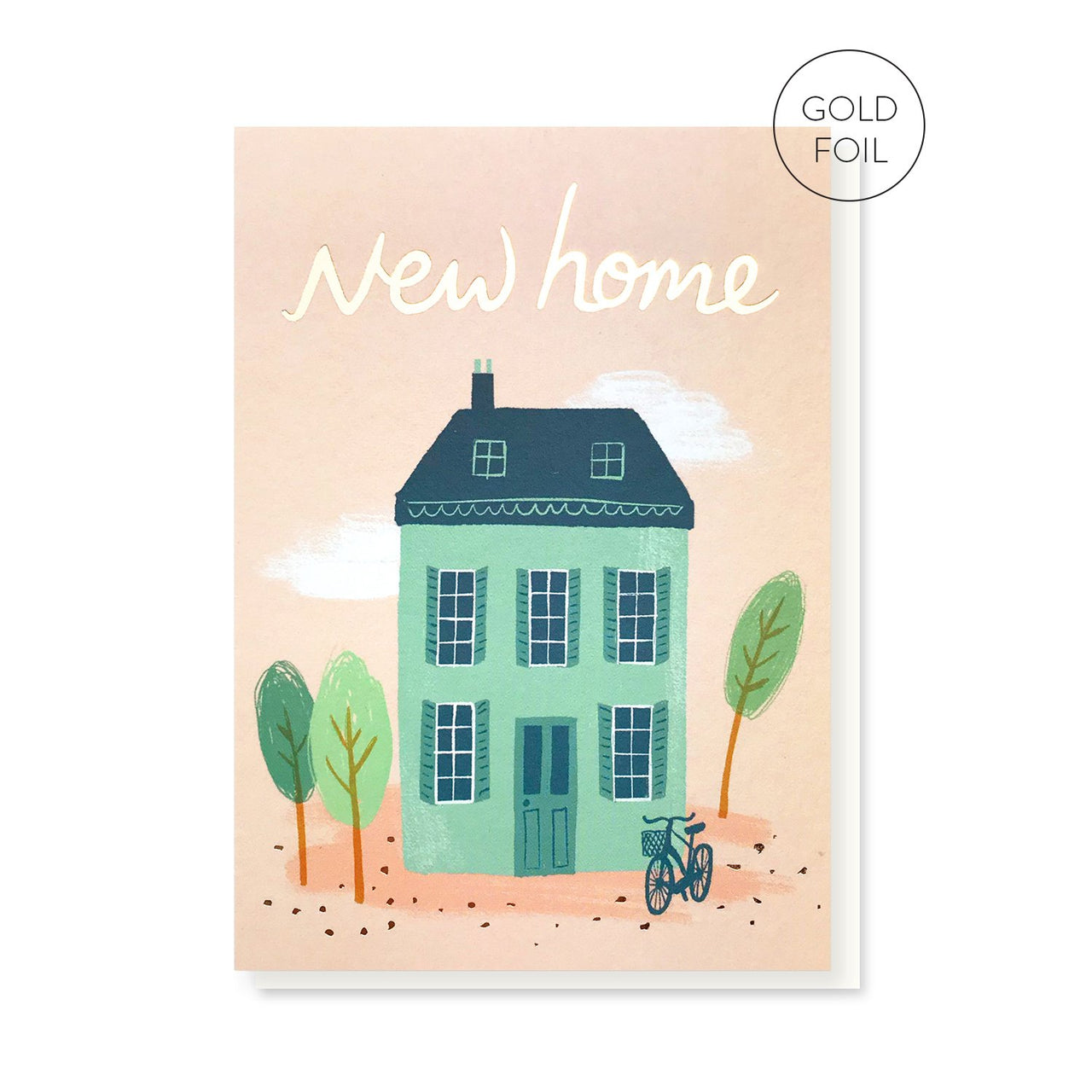New Home greeting card by Stormy Knight