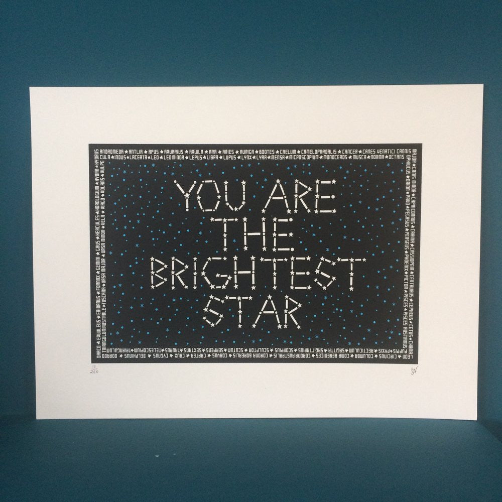 Brightest Star Print