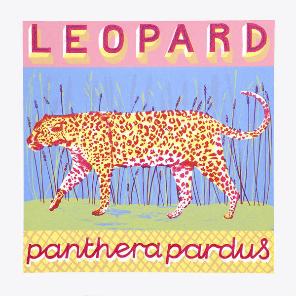 Leopard print by Alice Pattullo