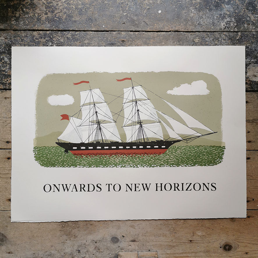 Onwards to New Horizons Print