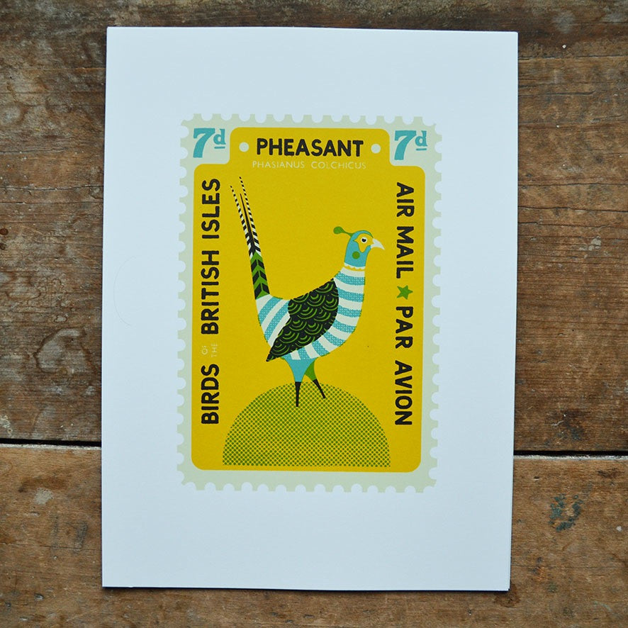 Pheasant Stamp Print by Tom Frost
