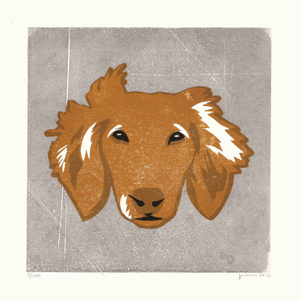 Rafferty (Dachshund) Print