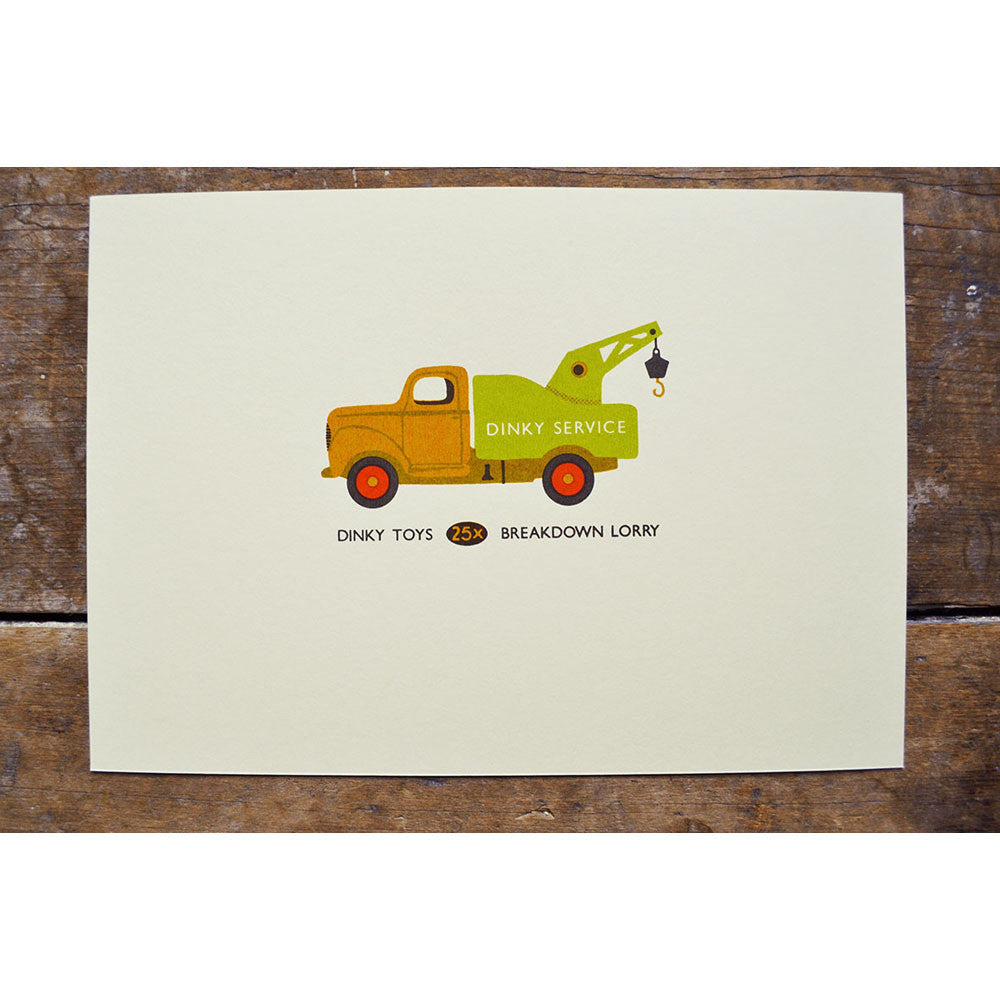 Dinky Toy Print by Tom Frost