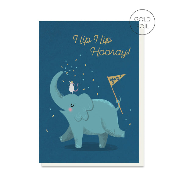 Elephant Sprinkles Birthday Card