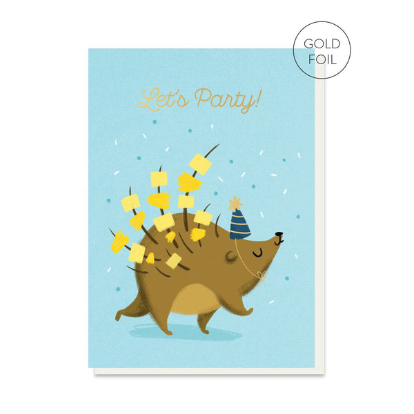 Party Snacks Birthday Card