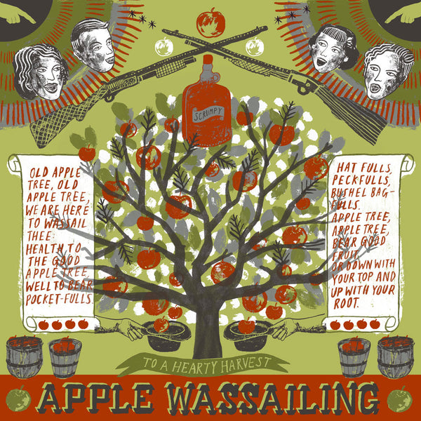 Apple Wassailing Print