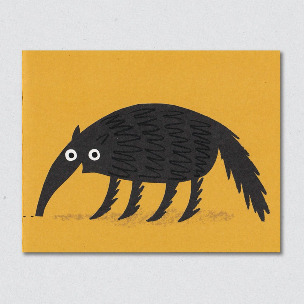 Anteater greeting card by Lisa Jones Studio
