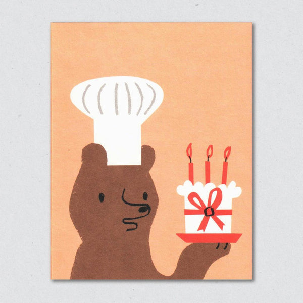 Baker Bear Card