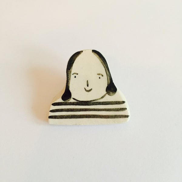 Barbara Hepworth Brooch