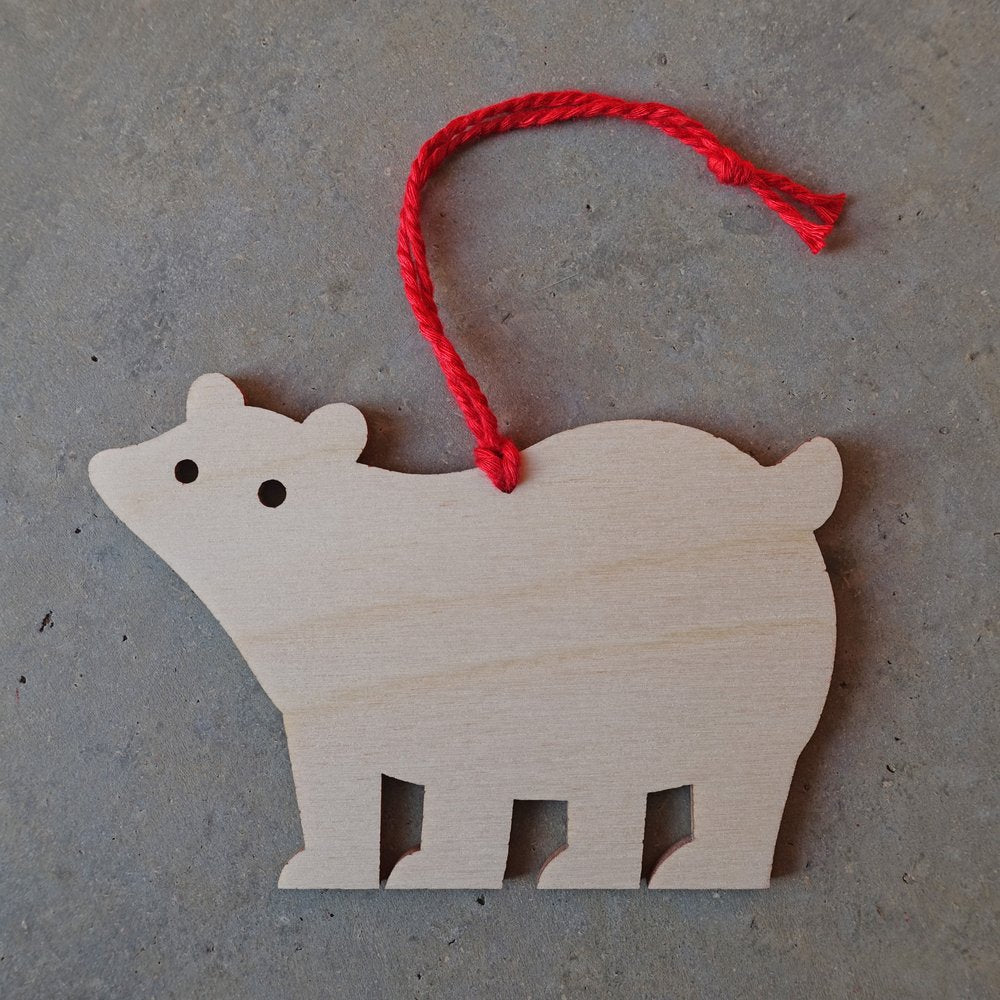 Polar Bear Bauble