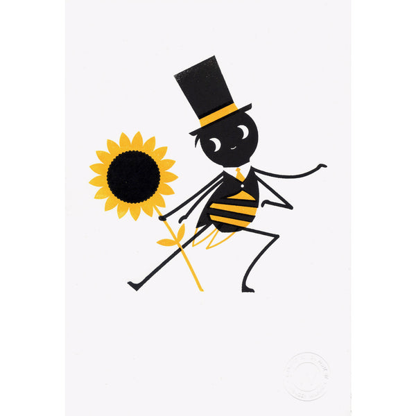 Bee Dance print by Spencer Wilson